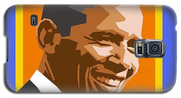 Barack Obama Galaxy S5 Case - Barack by Douglas Simonson