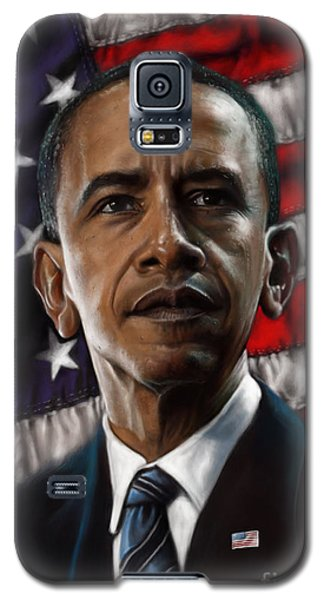 Barack Obama Galaxy S5 Case by Andre Koekemoer