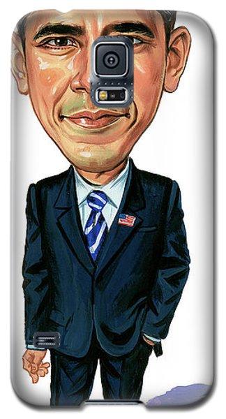 Barack Obama Galaxy S5 Case - Barack Obama by Art