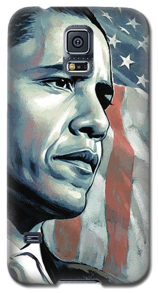 Barack Obama Artwork 2 B Galaxy S5 Case