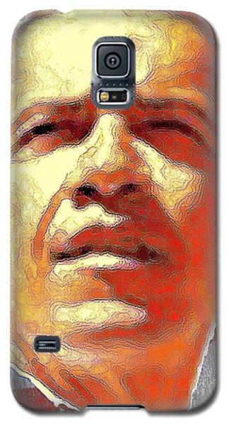 Barack Obama Portrait - American President 2008-2016 Galaxy S5 Case