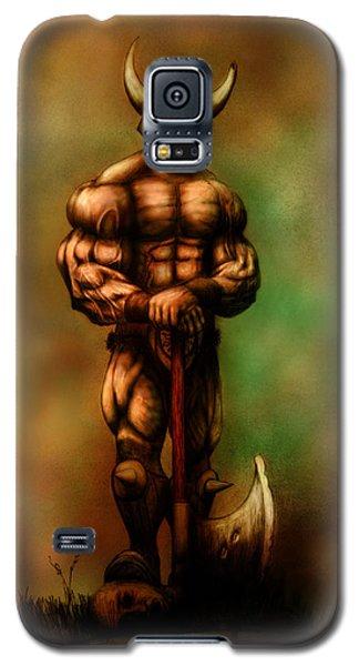 Barbarian King Galaxy S5 Case by Kim Gauge