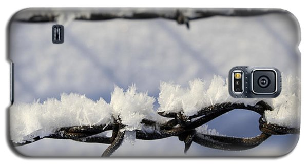 Barbed Wire Frost Galaxy S5 Case