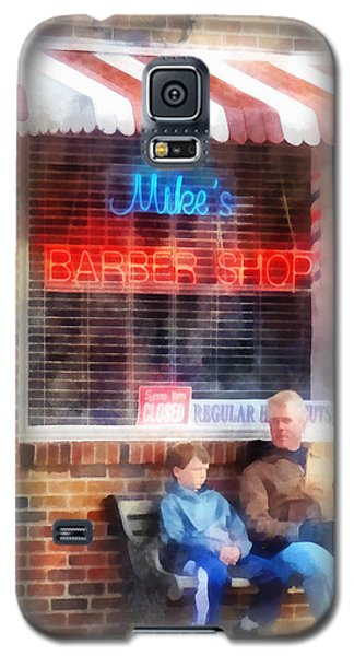 Barber - Neighborhood Barber Shop Galaxy S5 Case