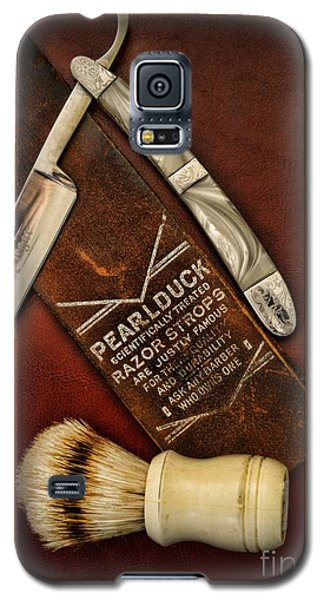 Barber - Tools For A Close Shave  Galaxy S5 Case by Paul Ward