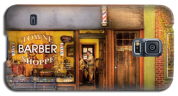 Barber - Towne Barber Shop Galaxy S5 Case by Mike Savad