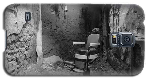 Prison Barbershop In Bw Galaxy S5 Case