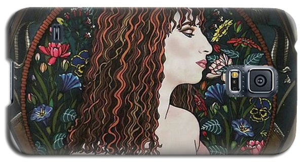 Barbra's Garden Galaxy S5 Case