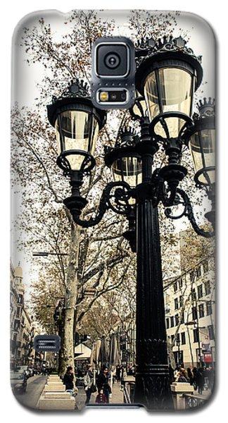 Barcelona - La Rambla Galaxy S5 Case by Andrea Mazzocchetti