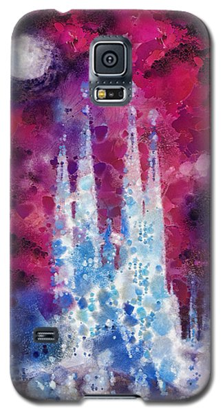 Barcelona Night Galaxy S5 Case by Mo T