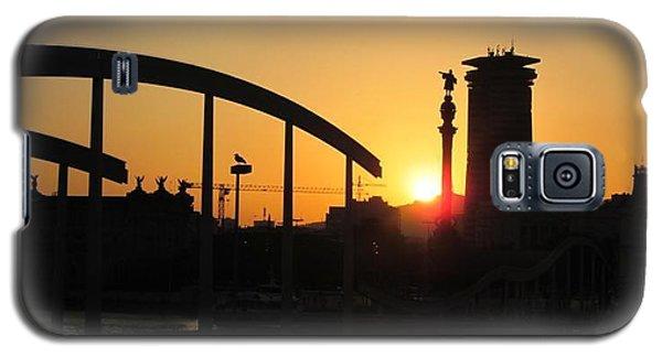 Barcelona Sunset Galaxy S5 Case