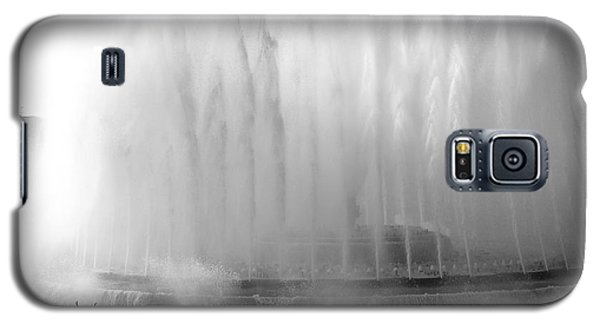 Barcelona Water Fountain Joy Galaxy S5 Case by Haleh Mahbod