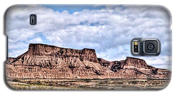 Bardenas Desert Panorama 1 Galaxy S5 Case