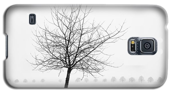 Bare Tree In Winter - Wonderful Black And White Snow Scenery Galaxy S5 Case