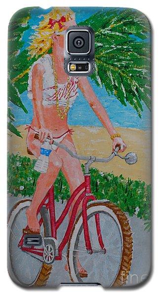 Barefoot Beach Crusing  Galaxy S5 Case