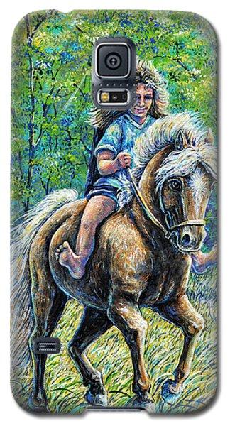Barefoot Rider Galaxy S5 Case