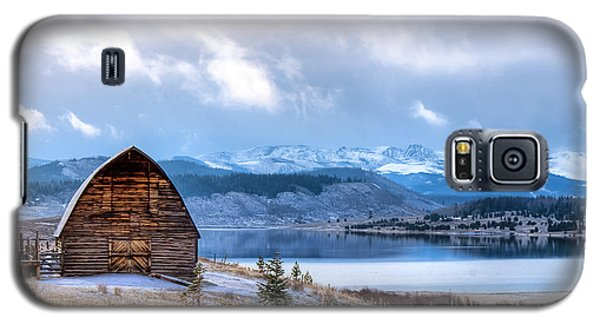 Barn At The Lake Galaxy S5 Case