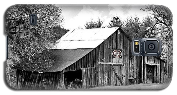 Galaxy S5 Case featuring the photograph Barn By The River by Katie Wing Vigil