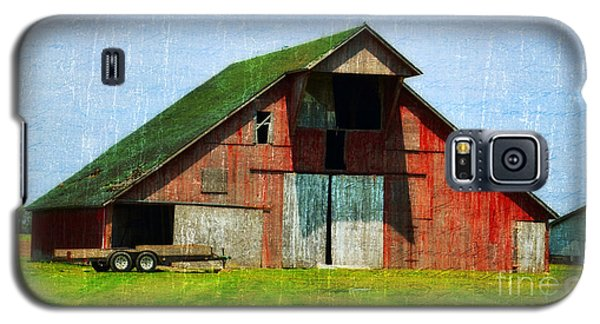 Barn - Central Illinois - Luther Fine Art Galaxy S5 Case
