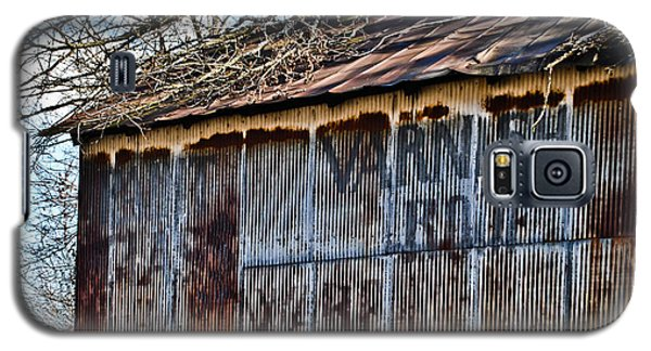 Barn Ghost Sign 1 Galaxy S5 Case by Greg Jackson