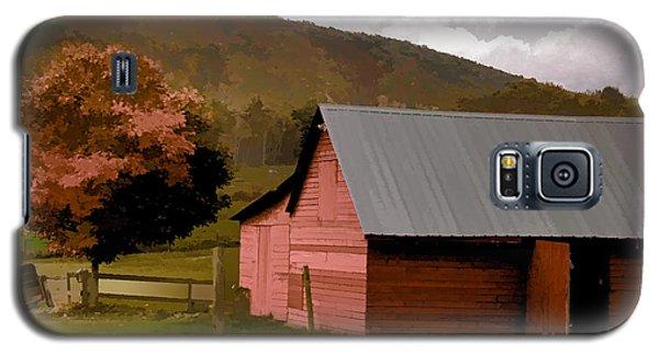 Barn In Vermont Galaxy S5 Case