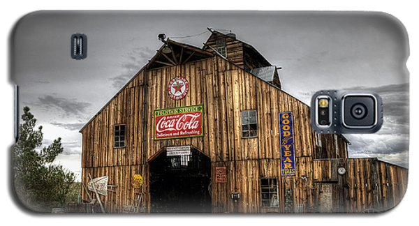 Barn Of Antiques Galaxy S5 Case by Eddie Yerkish