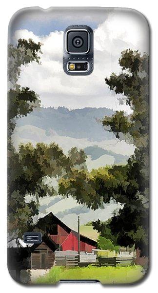 Barn On Santa Rosa Road Galaxy S5 Case