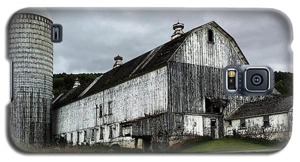 Barn With Silo Galaxy S5 Case