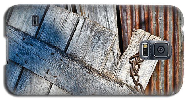 Galaxy S5 Case featuring the photograph Barn Wood And Tin by Greg Jackson