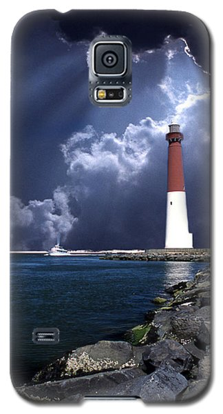 Barnegat Inlet Lighthouse Nj Galaxy S5 Case by Skip Willits