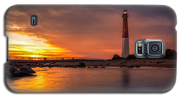 Barnegat Sunset Light Galaxy S5 Case