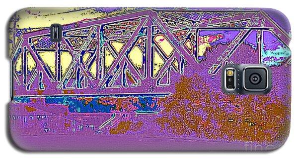 Barnes Ave Erie Canal Bridge Galaxy S5 Case by Peter Gumaer Ogden