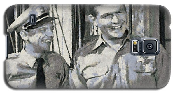 Barney Fife And Andy Taylor Galaxy S5 Case