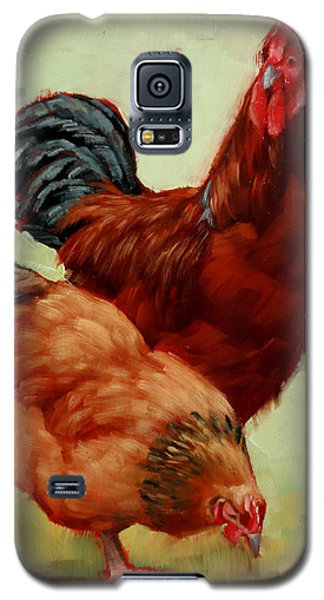 Barnyard Buddies Galaxy S5 Case by Margaret Stockdale
