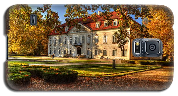 Baroque Palace In Nieborow In Poland During Golden Autumn Galaxy S5 Case