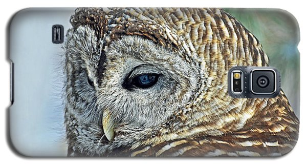 Barred Owl Portrait Galaxy S5 Case by Rodney Campbell
