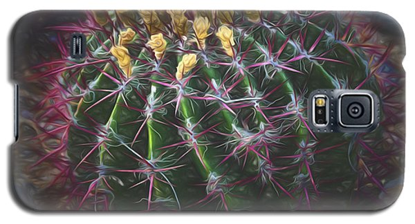 Barrel Cactus  ... Galaxy S5 Case by Chuck Caramella