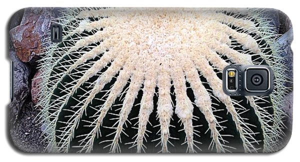 Galaxy S5 Case featuring the photograph Barrel Cactus by Luther Fine Art