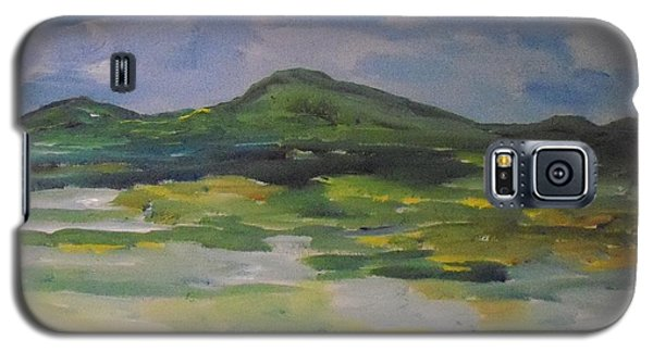 Galaxy S5 Case featuring the painting Barren But Beautiful by Conor Murphy