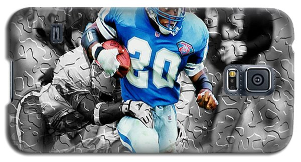 Barry Sanders Breaking Out Galaxy S5 Case by Brian Reaves