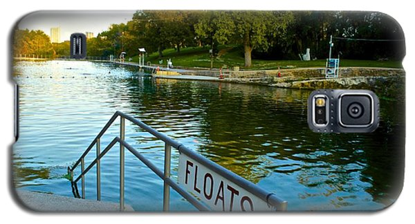Barton Springs Pool In Austin Texas Galaxy S5 Case