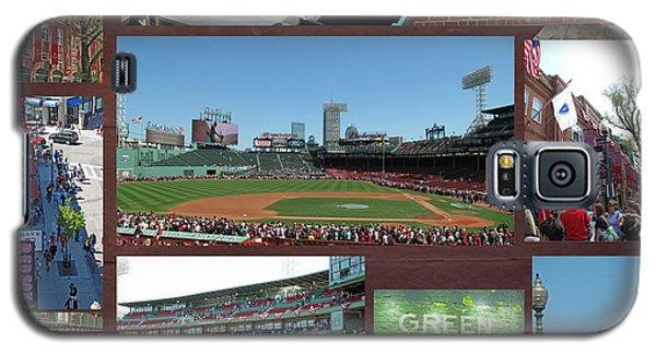 Baseball Collage Galaxy S5 Case by Barbara McDevitt