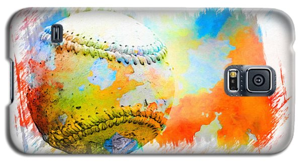 Baseball- Colors- Isolated Galaxy S5 Case