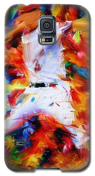 Baseball  I Galaxy S5 Case by Lourry Legarde