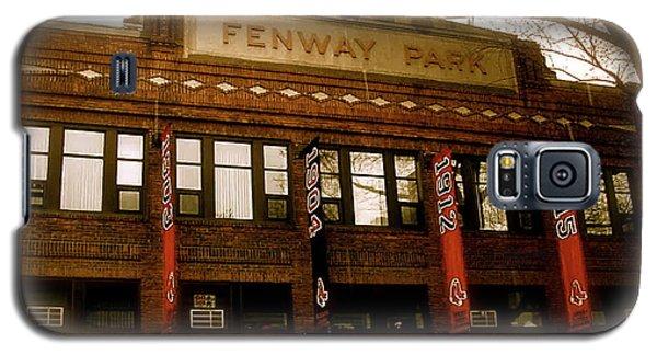 Boston Galaxy S5 Case - Baseballs Classic  V Bostons Fenway Park by Iconic Images Art Gallery David Pucciarelli