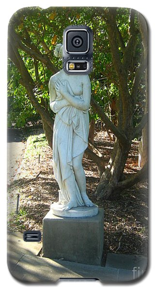 Galaxy S5 Case featuring the photograph Bashful Maiden by Leanne Seymour