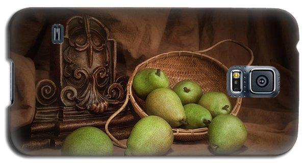 Basket Of Pears Still Life Galaxy S5 Case by Tom Mc Nemar