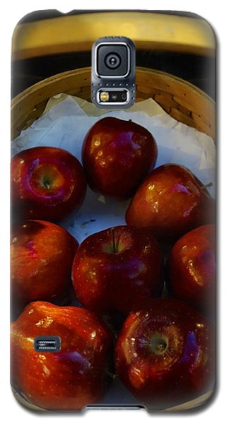 Basket Of Red Apples Galaxy S5 Case