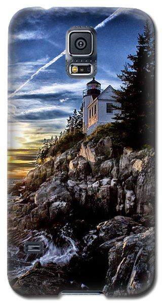 Bass Harbor Lighthouse Galaxy S5 Case by Elizabeth Eldridge