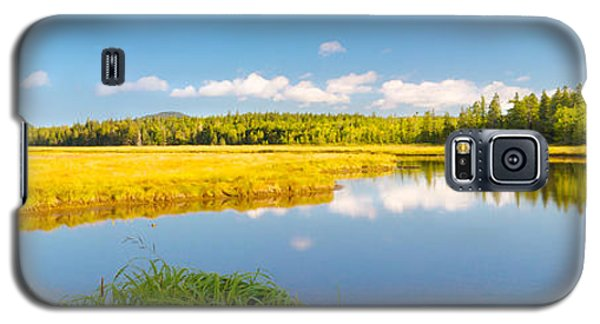 Bass Harbor Marsh Panorama Acadia National Park Photograph Galaxy S5 Case by Keith Webber Jr